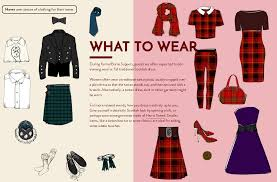 what is a tartan burns night guide what to wear