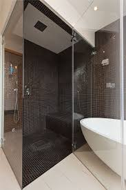 bathroom design contemporary glass cloistered walk in shower