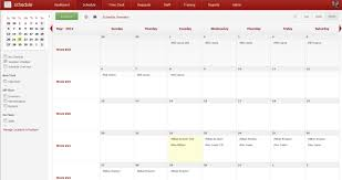 4 vacation schedule templates excel xlts