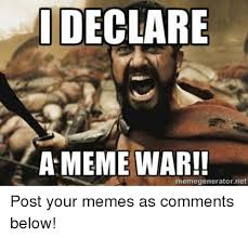 Facebook Post Meme - meme war declared spam syndicate gamers