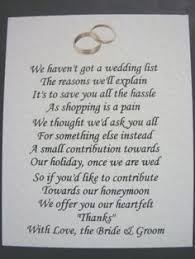 wedding gift poems wording for wedding invitations asking for money search