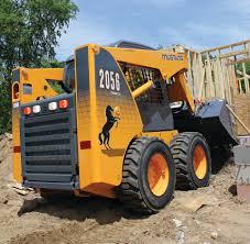 mustang 320 skid steer mustang a manitou brand 2056 series ii skid steer loader in skid