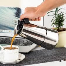 italian espresso maker stainless steel 2 8cup stovetop espresso coffee maker espresso