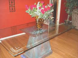 Glass Top Pedestal Dining Room Tables Dining Room Creative Glass Top Pedestal Dining Room Tables Home
