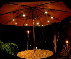 Led Patio Umbrella by Decorative Patio Umbrella Lights U2014 All Home Design Ideas