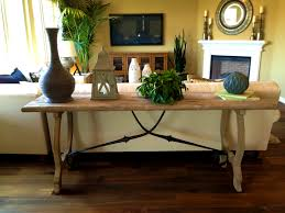 sofa pretty decorate sofa table behind couch decorating console