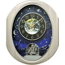 rhythm magic motion clocks seiko melodies in motion clocks