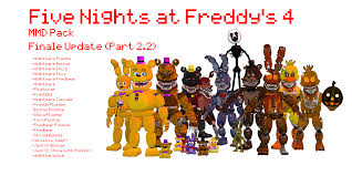 fnaf world halloween edition download mmd fnaf 4 pack dl by oscarthechinchilla on deviantart