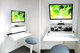 Wall Mounted Desk Diy Diy Desk Shelf Desk Shelf Space Saver Wall Mounted Desks To Buy Or