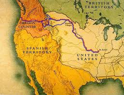 clark map lewis and clark maps historynet