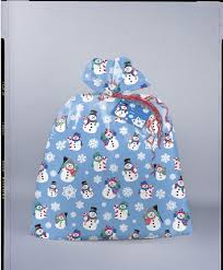 unique jumbo plastic gift bag snowman design 36 x 44 ebay