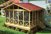 Three Season Porch Plans Porch Plans Three Season And Screened Porches At Coolhouseplans Com