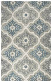 Area Rugs Gray Darby Home Co Venedy Tufted Wool Blue Gray Area Rug Reviews