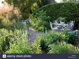 wickets saffron walden essex england summer country cottage garden