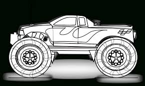 truck printable coloring page free printable monster truck
