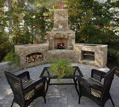 add a outdoor room to home brick stone fireplace an outdoor room can add usable and