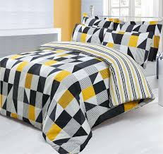 black yellow and gray bedding ktactical decoration