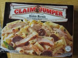 frozen friday claim jumper chicken marsala brand