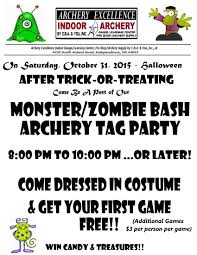 Halloween Monster Games by Halloween Archery Tag Monster Zombie Bash Party Christ Bows
