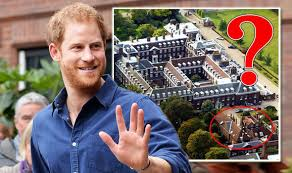 where do prince william and kate live where does prince harry live home with meghan markle is near prince
