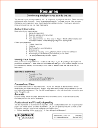 write a good resume resume for your job application