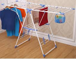 Cloth Dryer Balcony Folding Mental Expandable Multifunctional Nigerian Clothes