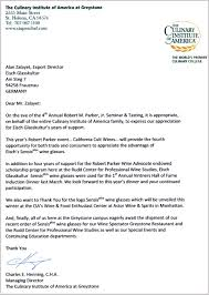 thanksgiving letter for hospitality awards eisch