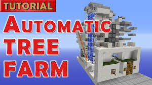 minecraft 1 9 automatic afk tree farm 1400 logs hour no wither