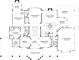 Practical Magic House Floor Plan Colonial House Plan With 5 Bedrooms And 5 5 Baths Plan 6161