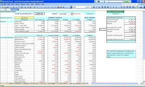 Free Spreadsheet Software Free Accounting Software In Excel Version Business