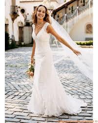 robe de mari e simple dentelle robe de mariée empire 2012 col v en dentelle