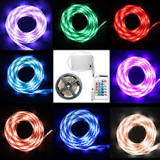 remote control battery lights led strip lights rgb 5v battery box remote control battery powered