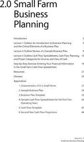 Template For A Business Plan Free Download Farm Business Plan Template Best Template Idea