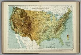 United States Geographical Map by Physical Features Of The United States Atlas Of American