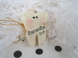 personalized tooth ornament dentist ornament