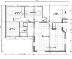 maison plain pied 2 chambres cuisine plan maison neuve plain pied plan de maison plain pied 2