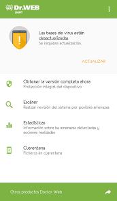 anti virus dr web light download anti virus dr web light 12 1 1 android apk free