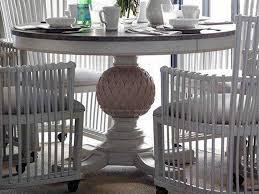 stanley pedestal dining table stanley furniture preserve orchid 48 round artichoke pedestal dining