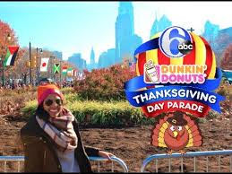 dunkin donuts thanksgiving day parade in philly