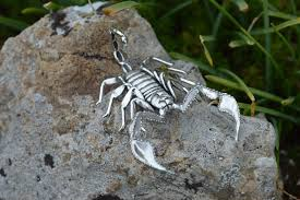 yellow tailed scorpion ornament keating jewellery