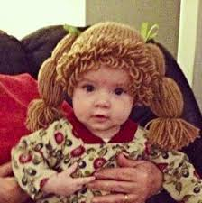 Homemade Cabbage Patch Kid Halloween Costume 25 Cabbage Patch Hat Ideas Crochet Funny