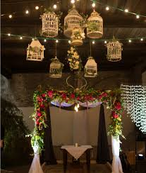 unusual suspended flowers wedding venue decoration ideas wedding