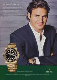rolex ads roger federer rolex watch company 2009 ad magazine advert