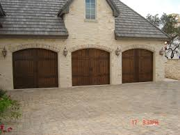 Keystone Overhead Door Cobble Driveway And Arched Garage Door Provincial