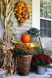 fall porch decor farmhouse style modern farmhouse style