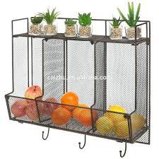 wall fruit basket fruit basket storage excellent wall mounted unit intended for