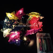 20 set handmade star rattan string lights fairy light ideas