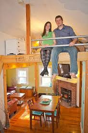 tiny house square footage from 5600 to 800 square feet and lovin it
