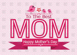 mother s day card designs happy mother u0027s day pink greeting card royalty free vector clip art
