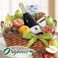 organic fruit basket organic napa cider chocolate fruit and nuts basket applied health